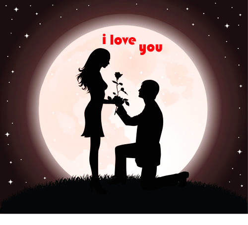 Photo of write yours name on moon lover gif photo