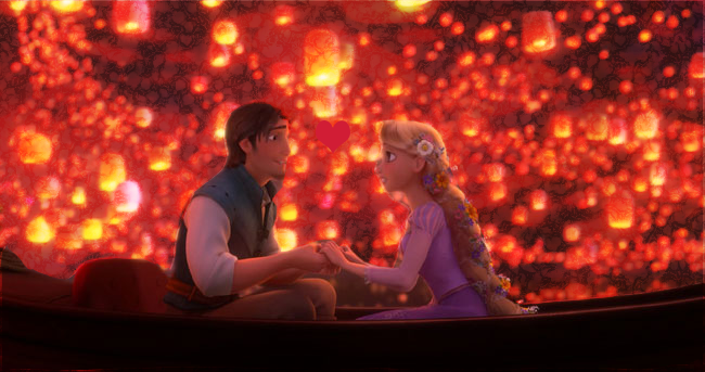 Photo of write your names on gif tangled lovers ship