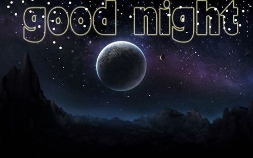 Photo of Write any name on good night wishes