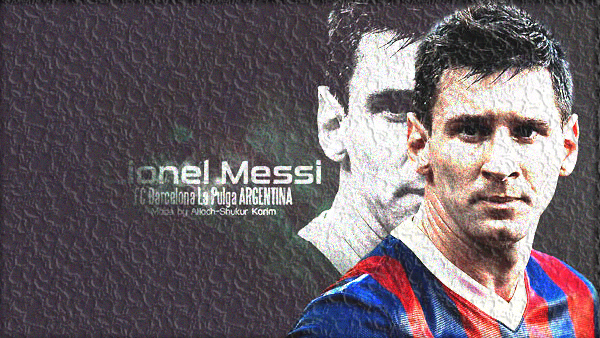 Photo of write your name with lionel messi gif photo