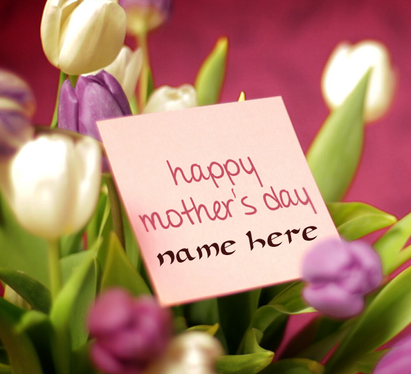 Photo of Write name on happy mother's day
