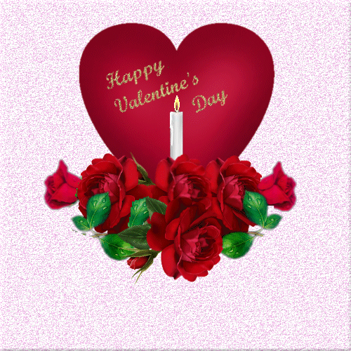 Photo of write your name on happy valentine day gif