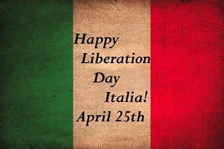 Photo of write name on Happy Italian Liberation Day