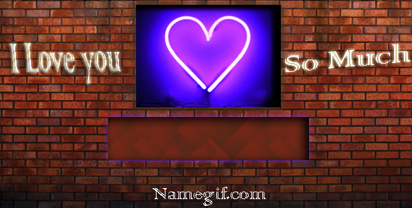 Photo of write your lover name on love wall