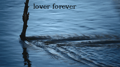 Photo of write your names on water lover forever gif photo