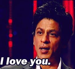 Photo of say i love you with shahrukh khan