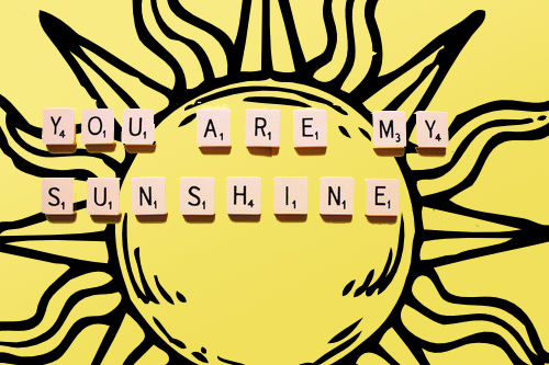 Photo of write your lover name on your my sunshine gif photo