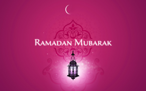 Photo of write your name on Ramadan Mubarak gif image