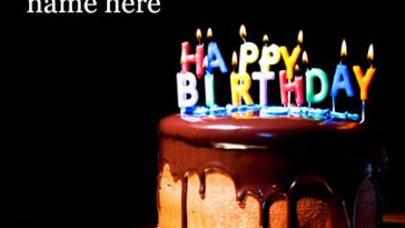 Write your name on birthday cake video with english song namegif more from write name on video m4hsunfo