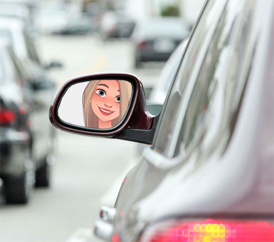 car mirror misc photo frame - car mirror misc photo frame