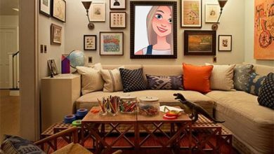 Photo of comfort living room misc photo frame