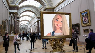Photo of huge gallery hall misc photo frame