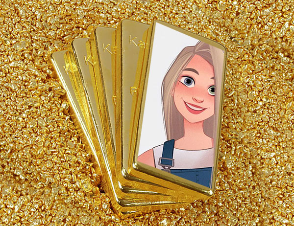 ounce of gold misc photo frame - ounce of gold misc photo frame