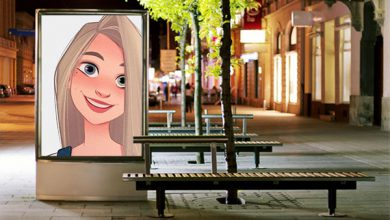 Photo of street seats advertisement misc photo frame