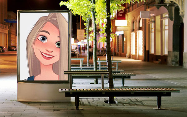 street seats advertisement misc photo frame - street seats advertisement misc photo frame