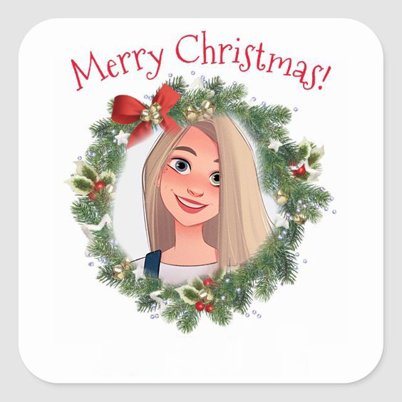 merry christmas photo frame online free - merry christmas photo frame online free