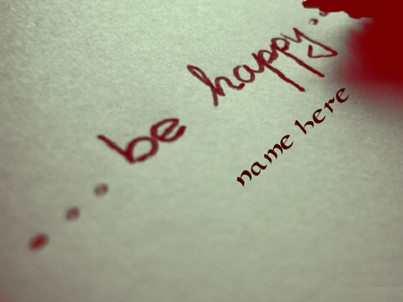 Photo of Write any name on happy quotes