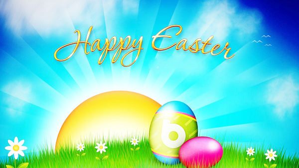 Photo of Write name on Happy Easter day