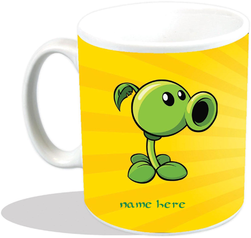 Photo of write your name on bean mug