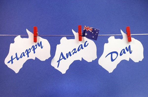 Photo of write name on Happy Anzac Day