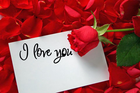 Photo of write your love name on i love you photo