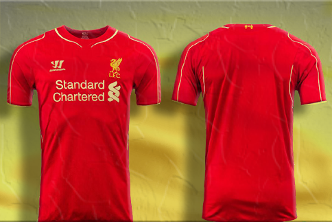 Photo of write your name and Your favorite number on liverpool shirt gif photo
