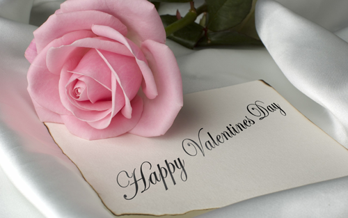 Photo of write name on happy valentine day photo