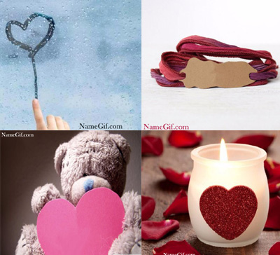 Photo of write name on gif romantic group of images gif photo