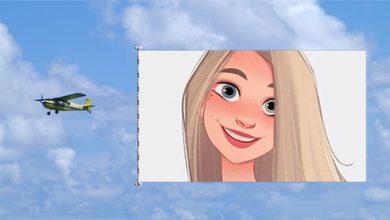 Photo of Photo Frame plane Advertising Frame