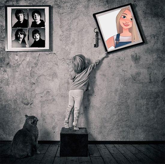 cute kid misc photo frame - cute kid misc photo frame