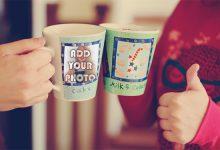 Photo of friends mug photo frame