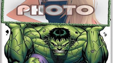 Photo of hulk kids cartoon photo frame
