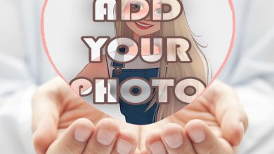 Photo of my heart between your hands Romantic photo frame
