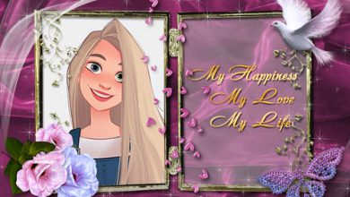 Photo of i love my auntie photo frame romantic frame